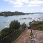 Bridge Deck Villa - Deck View - Crows Nest Opua