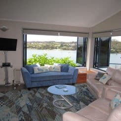 Lounge - Sails Villa - Crows Nest Opua