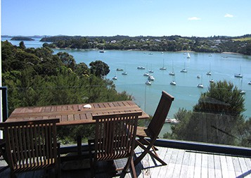 Crows Nest Villas - View over Bay of Islands